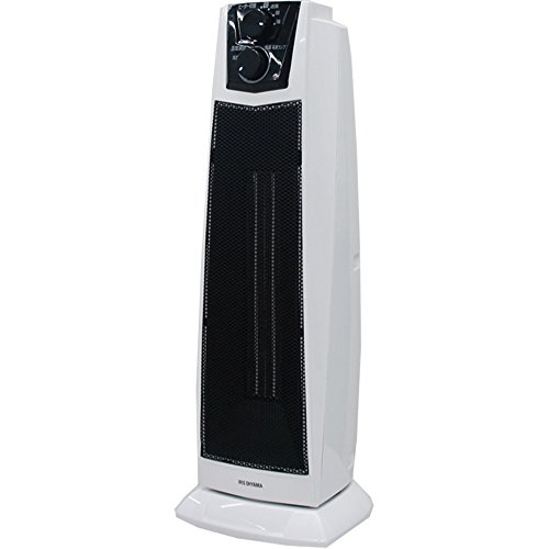 アイリスオーヤマ セラミックファンヒーター 首振り PCH-1260K-W