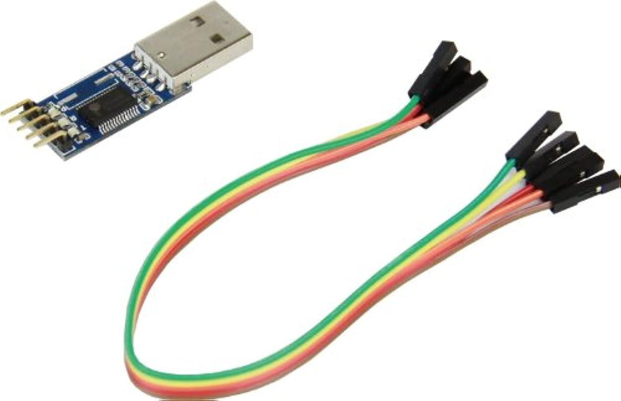 底拒否口実玄人志向 キワモノシリーズ USB接続 3.3Vシリアル変換キット SCON-KIT/GP