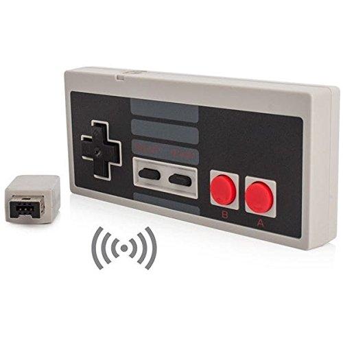 【2.4GHz ワイヤレス】海外版 NES クラシックミニ 専用ワイヤレスコントローラー グレイ[cxd1700] [並行輸入品]