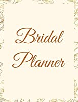 Bridal Planner: A Simple & Large Wedding Planning Notebook