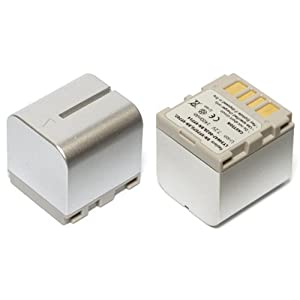 MyBattery HQ+ JVC BN-VF714互換バッテリー【シルバー】(お得な2個セット) MBH-BN-VF714 Silver Plus