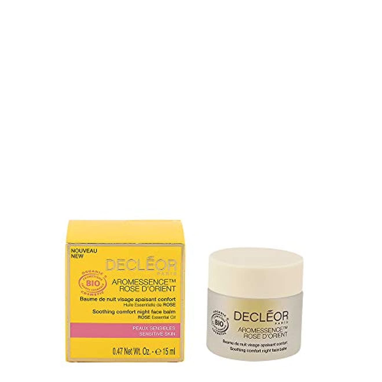 振る舞いよりどっちでもデクレオール Aromessence Rose D'Orient Soothing Comfort Night Face Balm - For Sensitive Skin 15ml/0.47oz並行輸入品