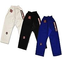 RollハードKidsハイブリッドFlexパネルGI BJJパンツ – ホワイト、ブルーまたはブラック, Great for Jiu Jitsu , Krav Maga , Martial Arts and Kick Boxing