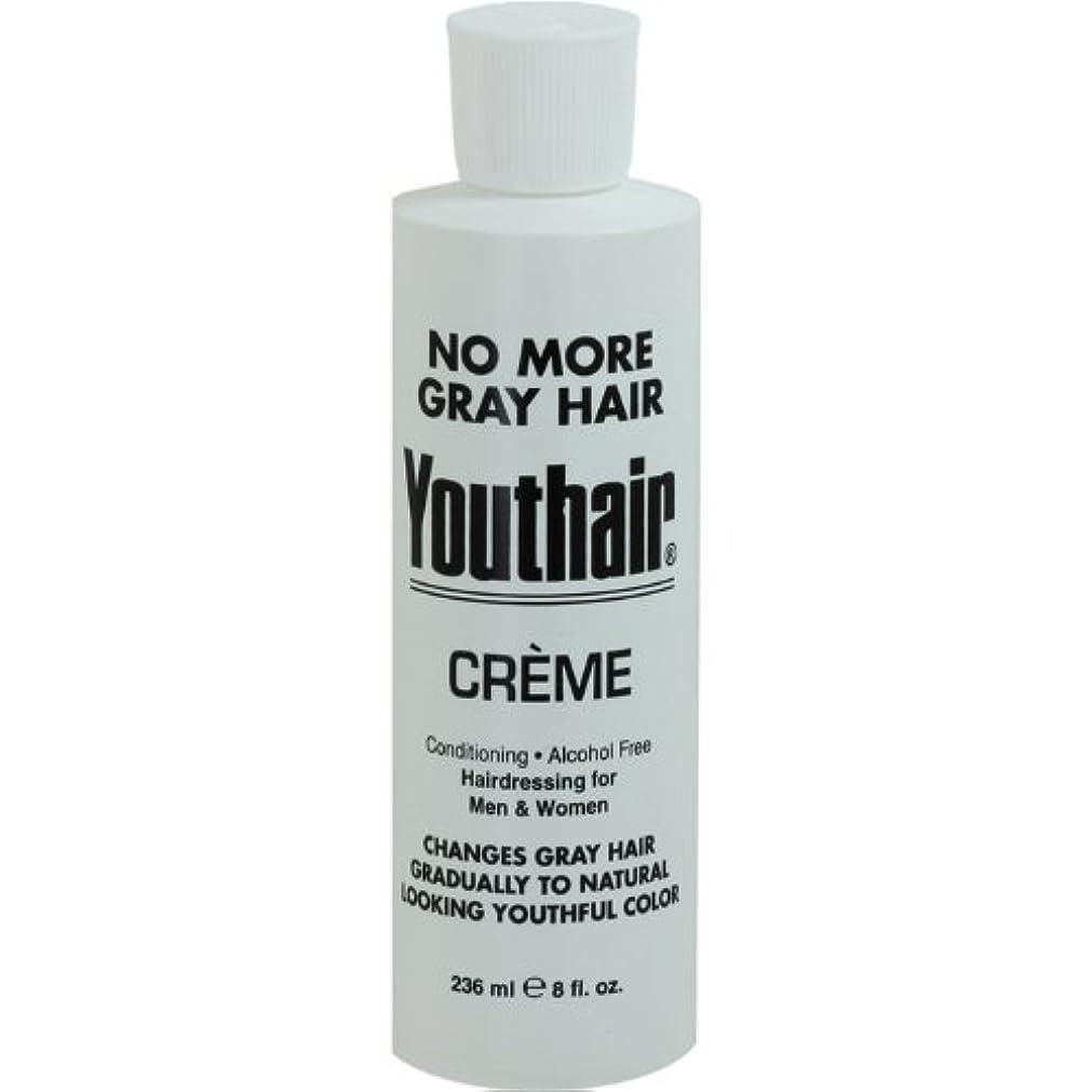 お気に入り行動体系的にYouthair Creme, Round Bottle, 8 Ounce by Youthair