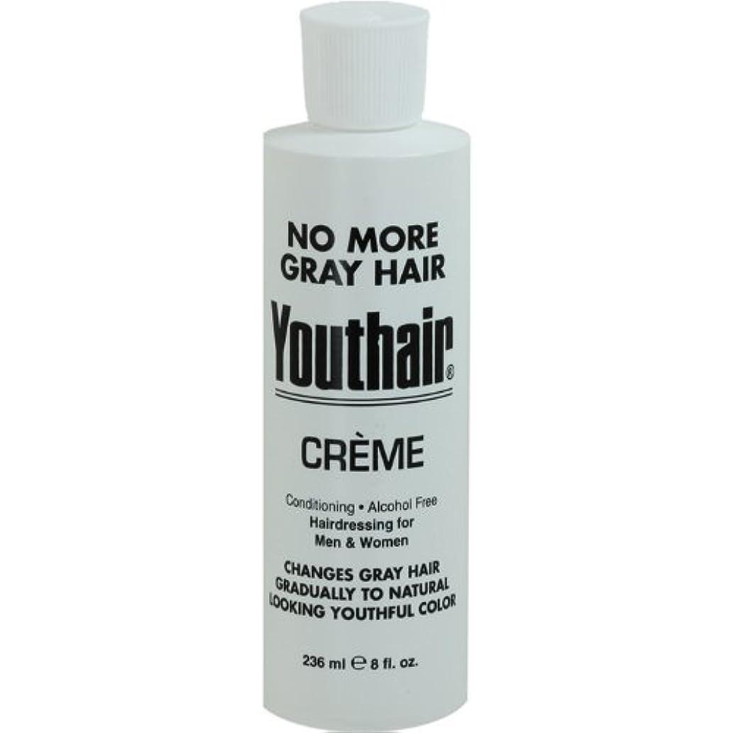 ラベンダーしなやかニコチンYouthair Creme, Round Bottle, 8 Ounce by Youthair