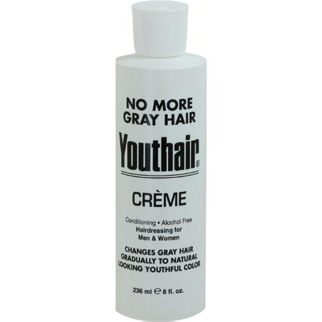 厚さ酔った偏見Youthair Creme, Round Bottle, 8 Ounce by Youthair