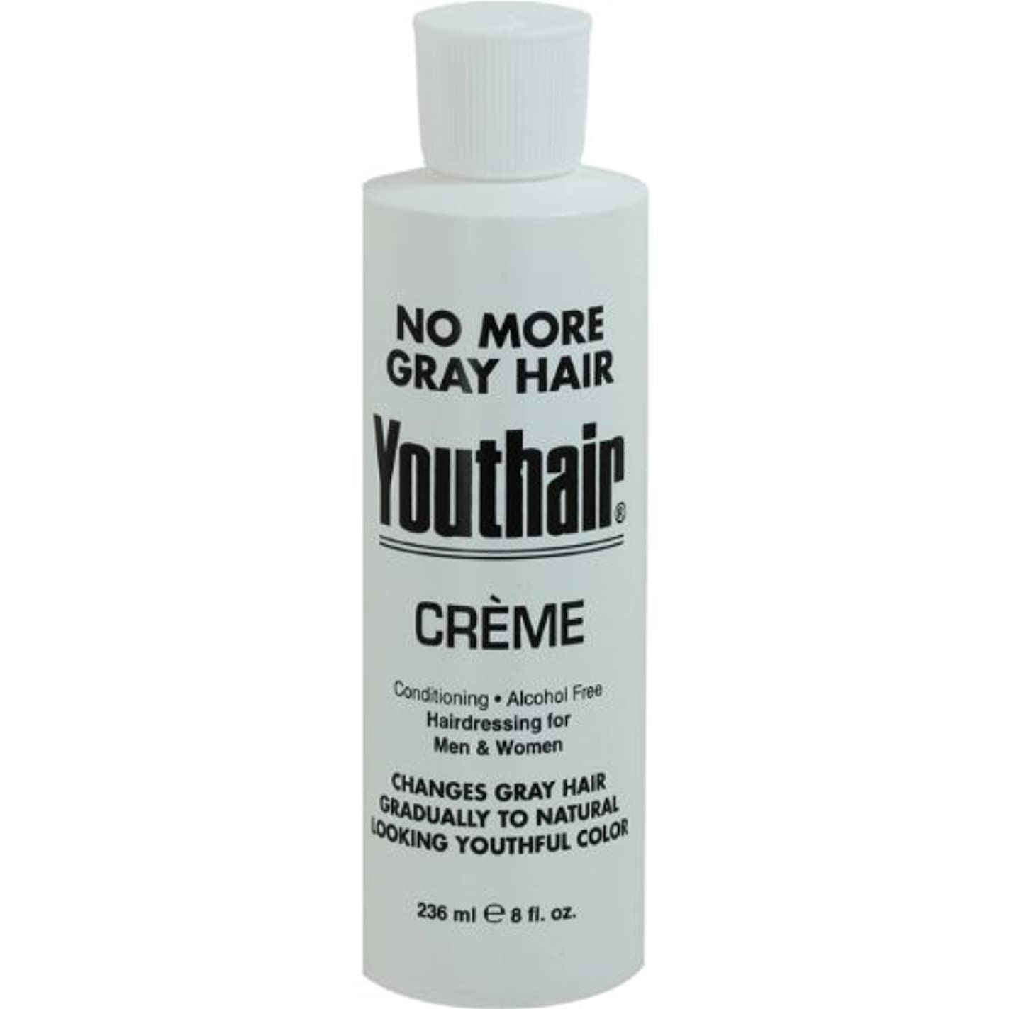 大学専ら目指すYouthair Creme, Round Bottle, 8 Ounce by Youthair