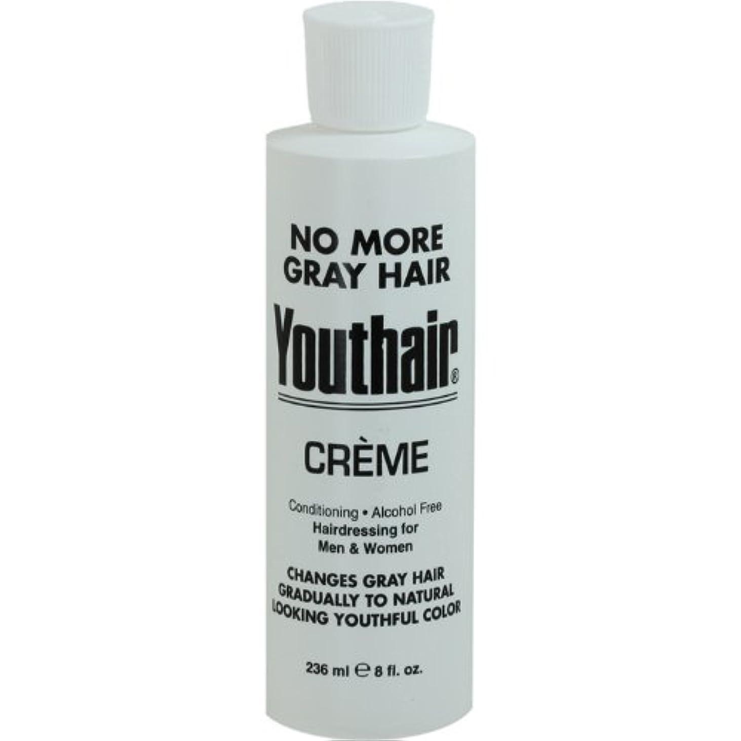 実現可能クランプポジティブYouthair Creme, Round Bottle, 8 Ounce by Youthair