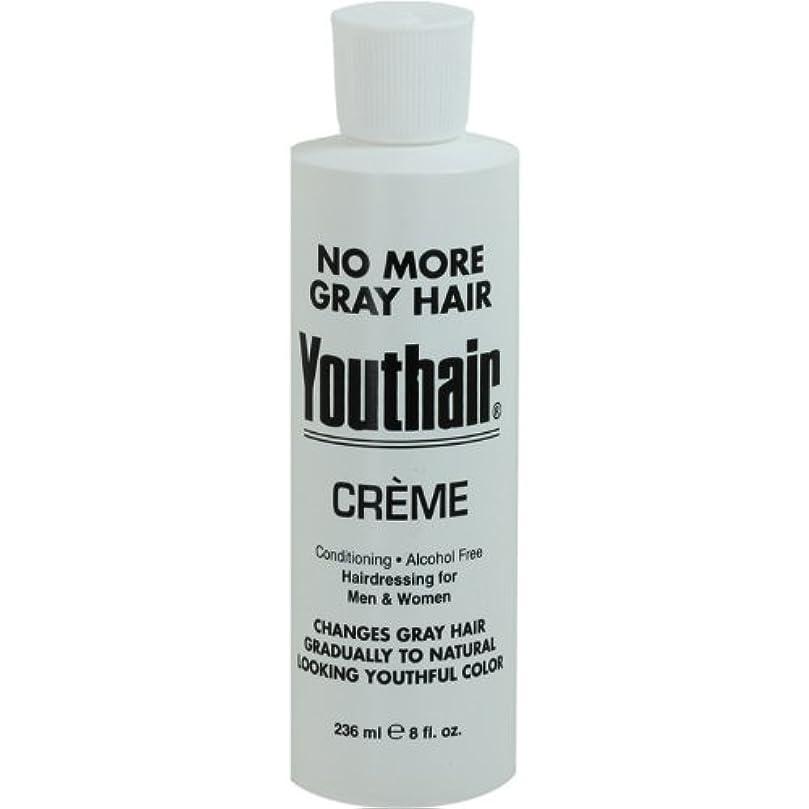 経験者獣発行するYouthair Creme, Round Bottle, 8 Ounce by Youthair