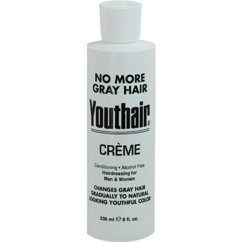 ホバー兄弟愛前投薬Youthair Creme, Round Bottle, 8 Ounce by Youthair