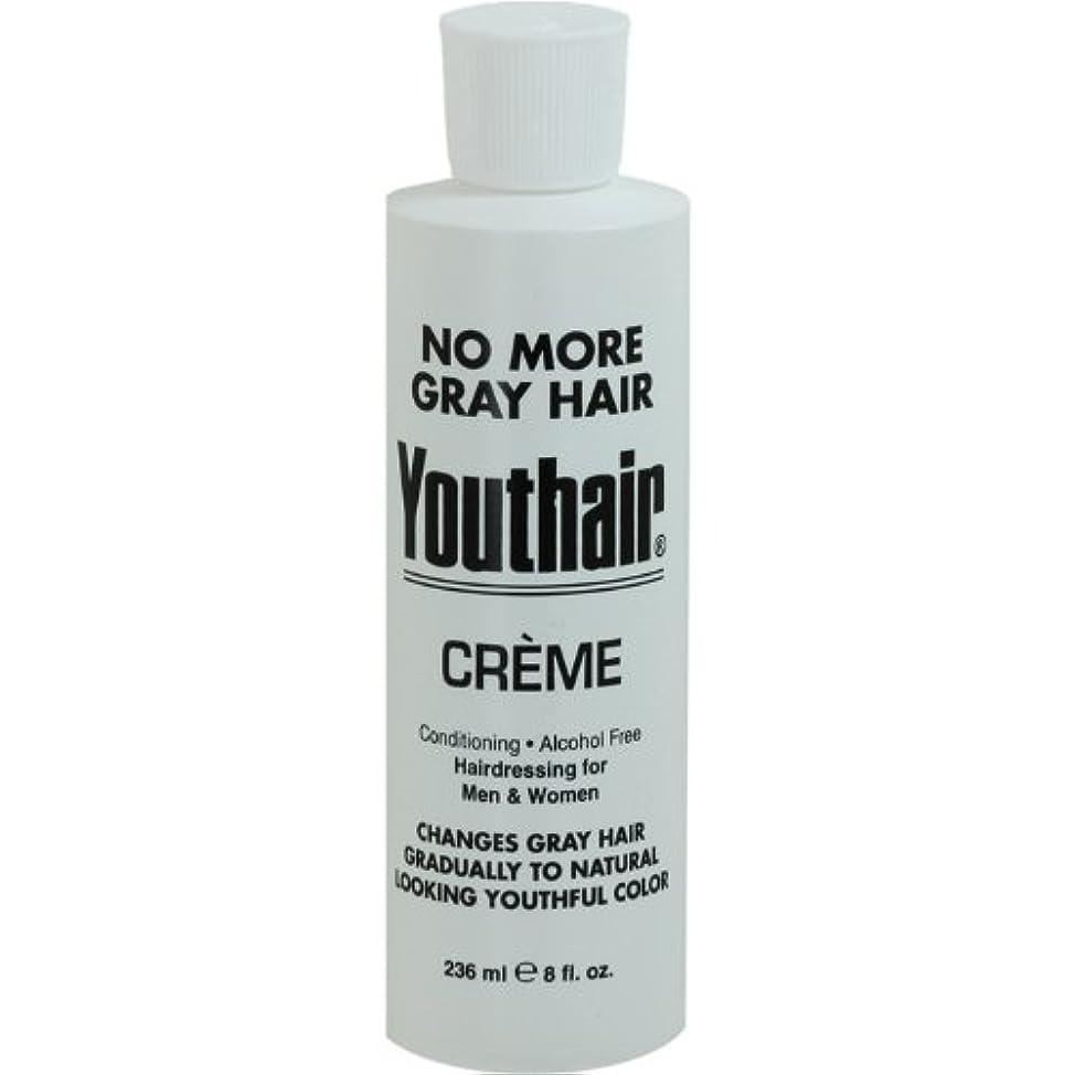 共和国動力学思いつくYouthair Creme, Round Bottle, 8 Ounce by Youthair