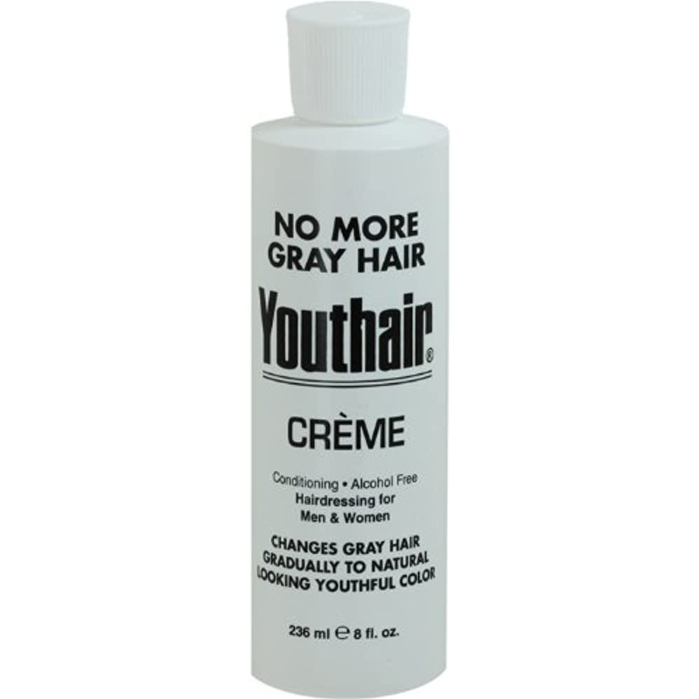 移動するくるくる上へYouthair Creme, Round Bottle, 8 Ounce by Youthair