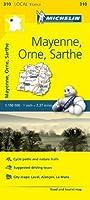 Michelin Mayenne, Orne, Sarthe France (Michelin Map)