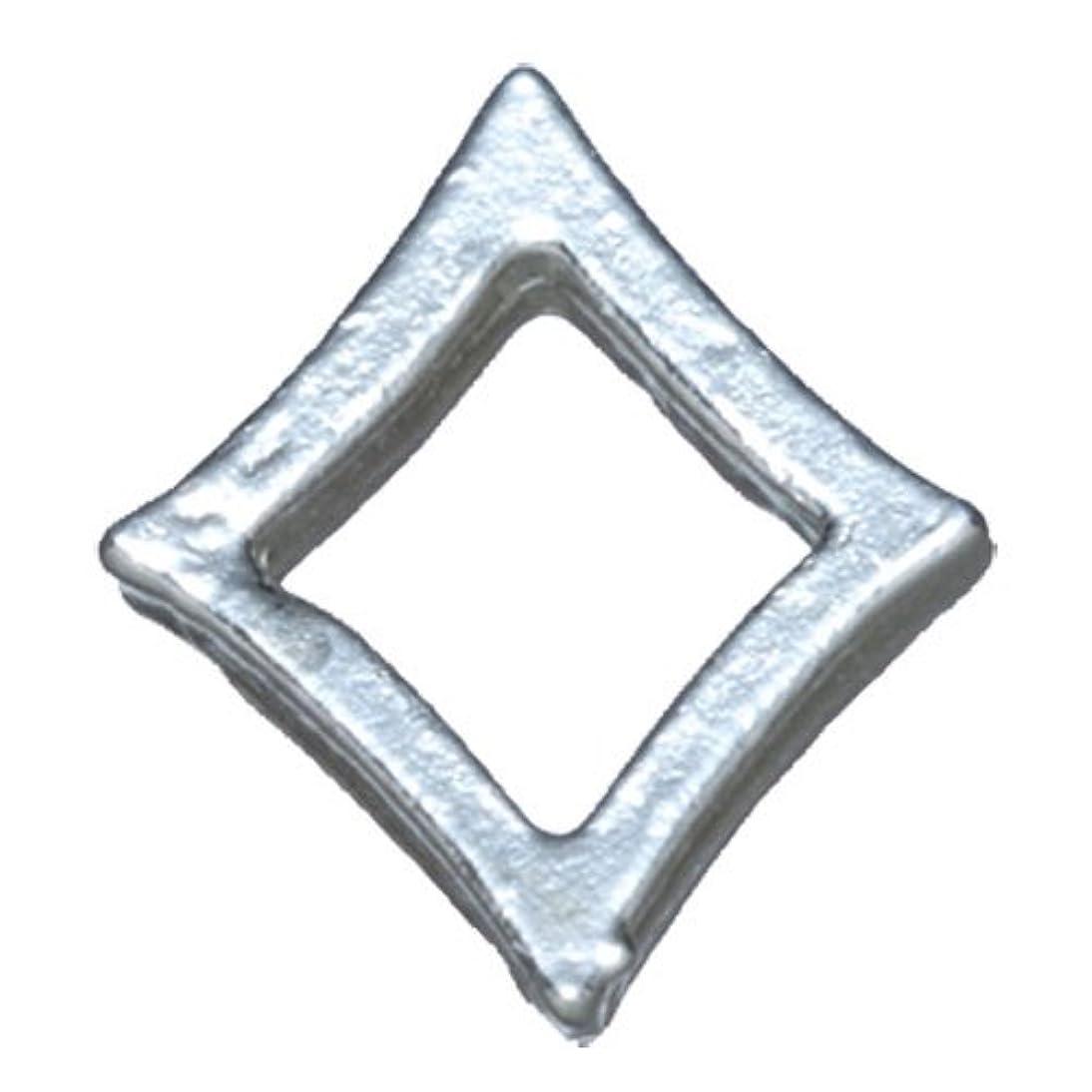 東方表現折り目プリティーネイル ネイルアートパーツ プレーンキラキラL シルバー 10個 PN-790R