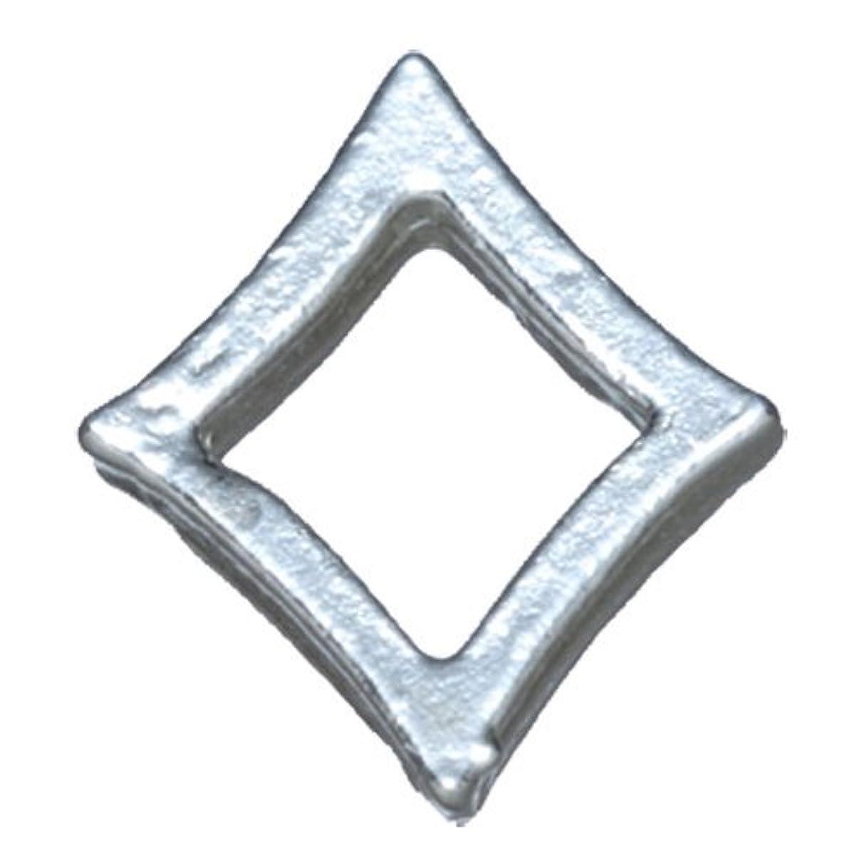 ドリンクドロップ野心プリティーネイル ネイルアートパーツ プレーンキラキラL シルバー 10個 PN-790R
