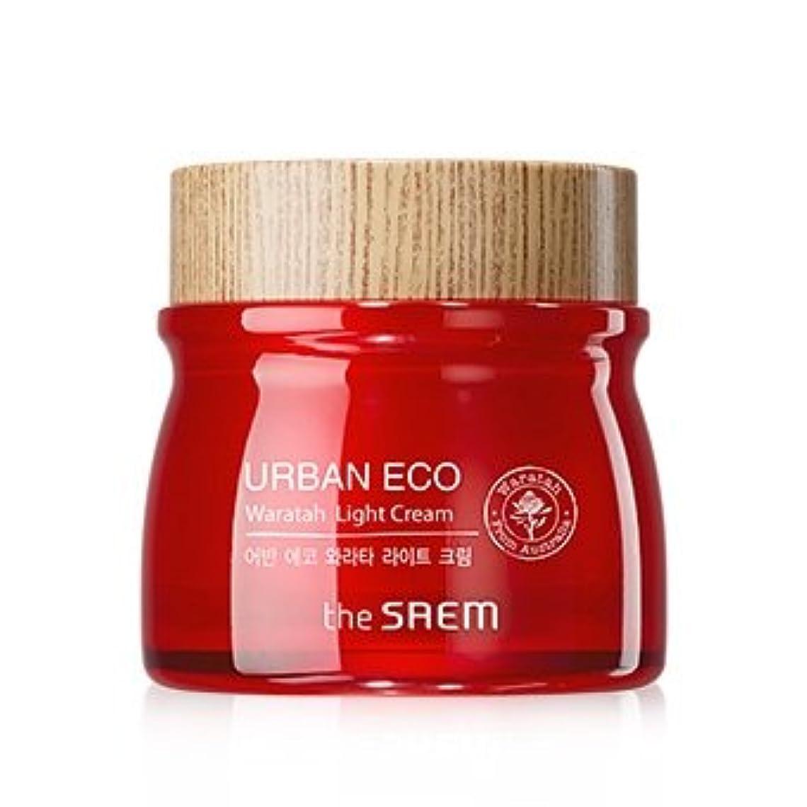 ローラー解放する学部The Saem Urban Eco Waratah Light Cream 60ml ドセム アーバンエコワラターライトクリーム60ml[並行輸入品]