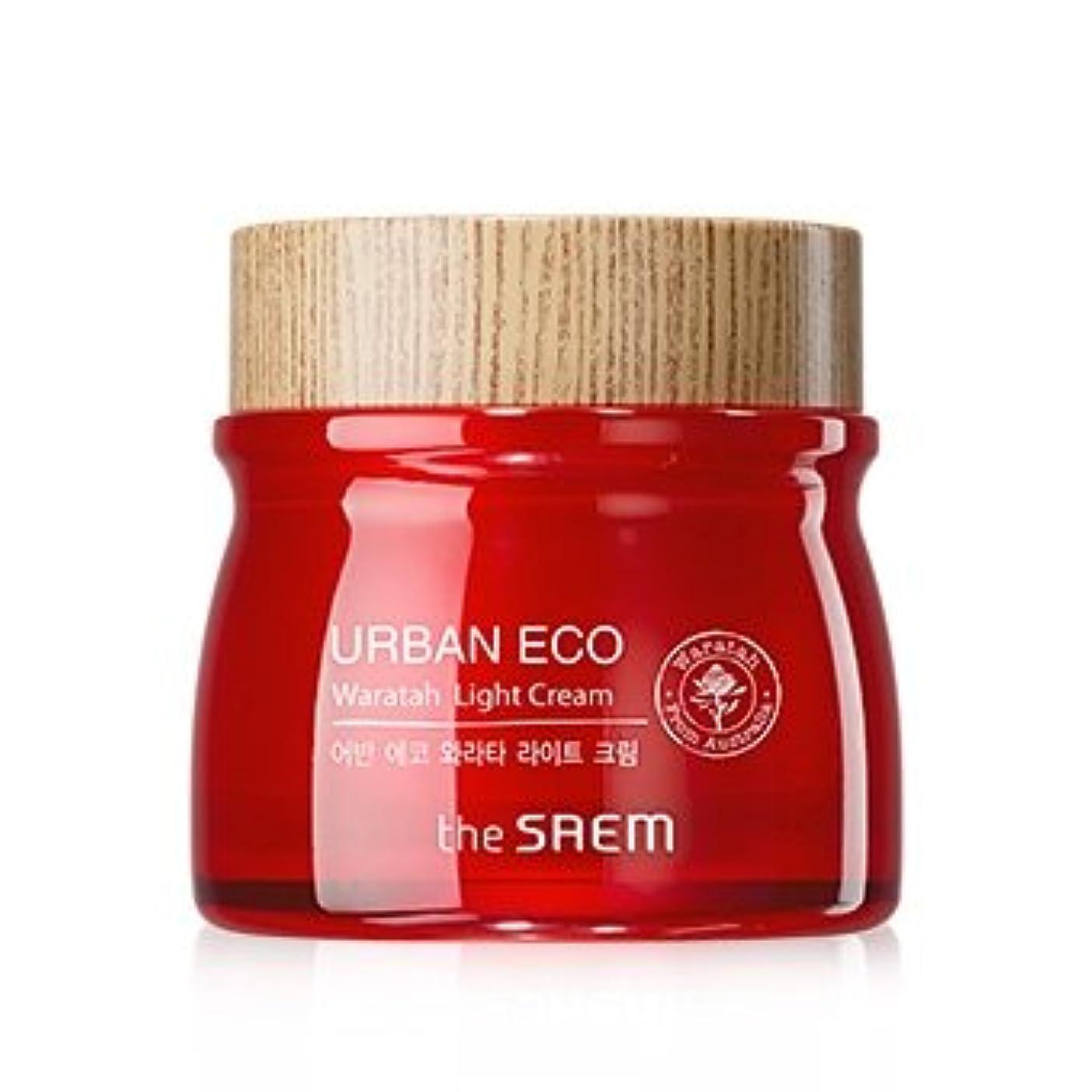 孤独な可能にする祭司The Saem Urban Eco Waratah Light Cream 60ml ドセム アーバンエコワラターライトクリーム60ml[並行輸入品]