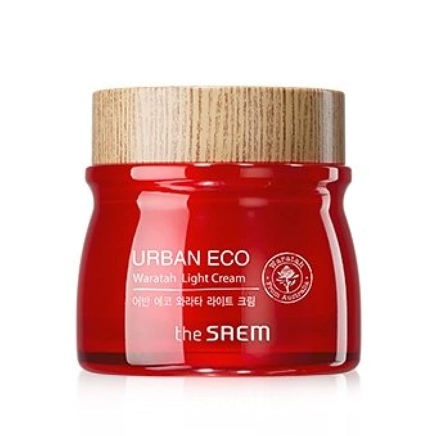 ミニチュア間に合わせ販売員The Saem Urban Eco Waratah Light Cream 60ml ドセム アーバンエコワラターライトクリーム60ml[並行輸入品]