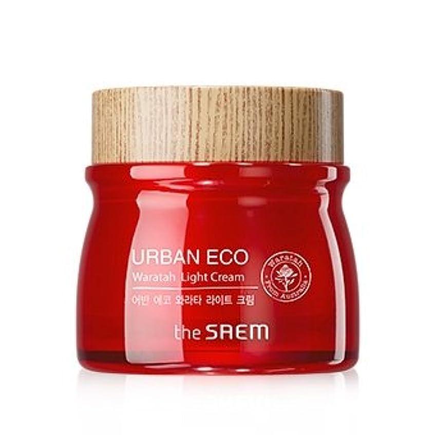 ラベル兄中にThe Saem Urban Eco Waratah Light Cream 60ml ドセム アーバンエコワラターライトクリーム60ml[並行輸入品]