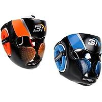 monkeyjack 2個ボクシングMMA保護ギアヘッドギアUFC FightingヘッドガードSparringヘルメット
