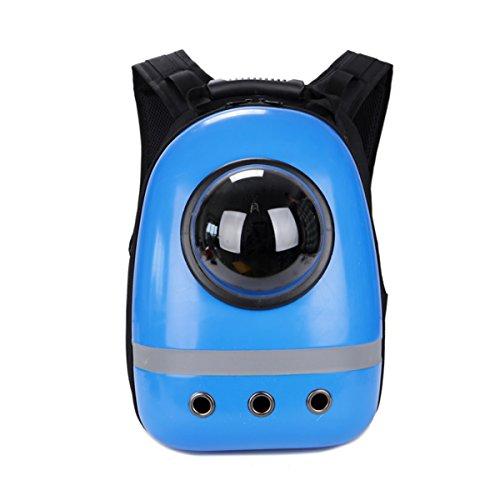 PETCUTE ペットキャリーバッグ 宇宙船カプセル型 リュック 犬猫兼用 ...