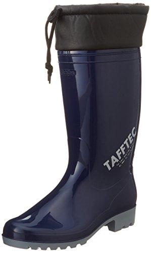 [アキレス] ブーツ 長靴 日本製 耐油 履き口カバー 2E ユニセックス ワークマスター OGB 0025 ネイビー 22.5 cm