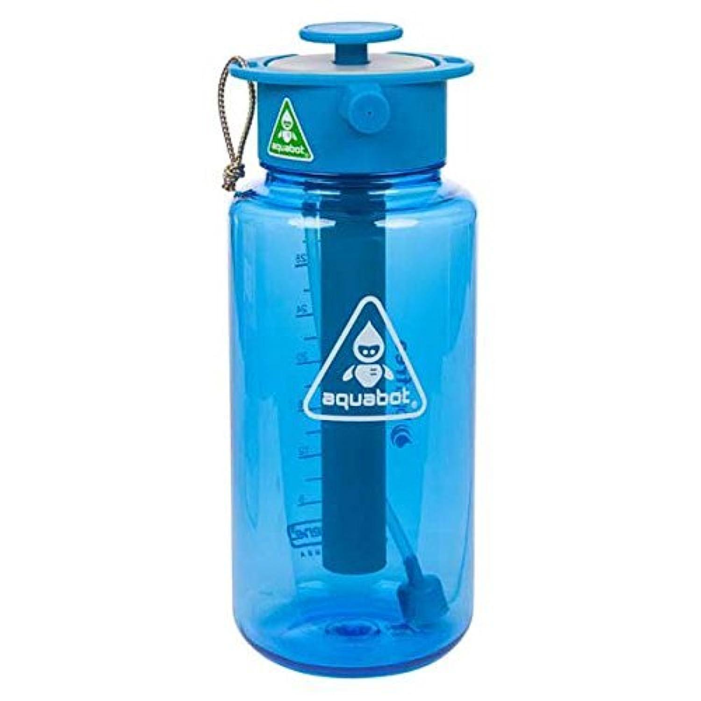 LUNATEC(ルナテック) アウトドア 水分補給 冷却 クリーニング アクアボット 1000ml ブルー LTA1057000
