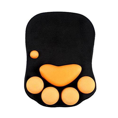 マウスパッド かわいい猫爪 肉球手首パッド