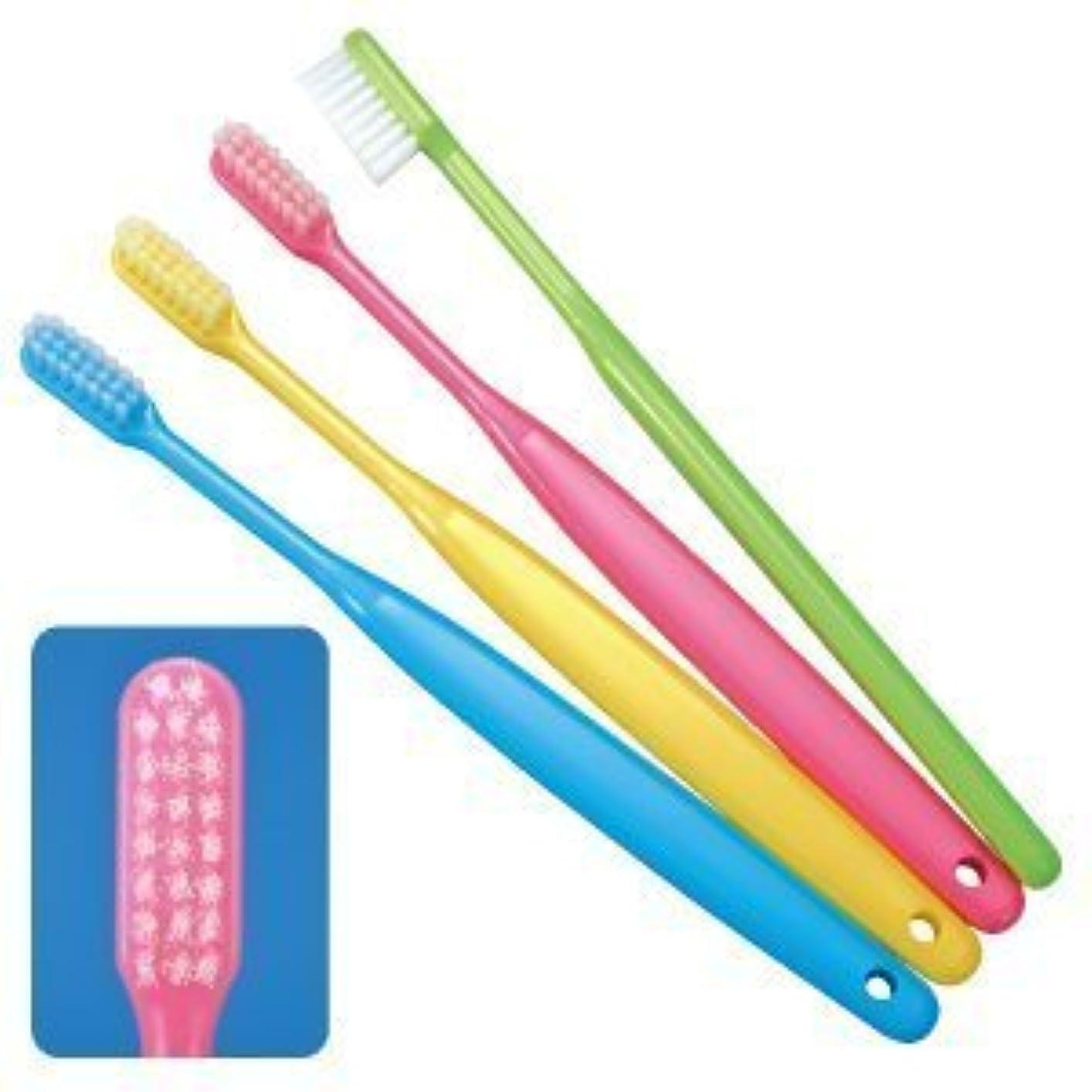 側面咽頭快適Ci バリュー歯ブラシ Mふつう ブルー 50本入り