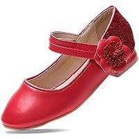 EIGHT KM EKM7009 Girls Mary Jane Low Heel Court Shoes