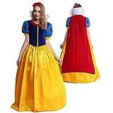 【 パニエ付き 】monoii 白雪姫 コスプレ 衣装 大人 ハロウィン 女王 仮装 コスチューム xl ドレス 397