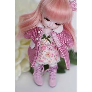 *CROBI DOLL* OFT1301PK (Winter Coat Set) /16cm doll/T-line/Lati Yellow/洋服