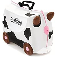 Trunki Frieda Cow Ride-On Suitcase White