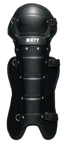 ZETT(ゼット) 野球 審判用 レガース ブラック(1900) BLL113A