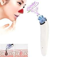 Hello 5W 1A多機能4つのプローブの女性とブラックヘッドExtractorの毛穴クレンザー(ピンク) (色 : 白)