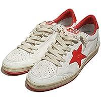 【正規取扱店】GOLDEN GOOSE DELUXEBRAND ゴールデングースデラックスブランド SNEAKER BALL STAR A5 WHITE STRAWBERRY