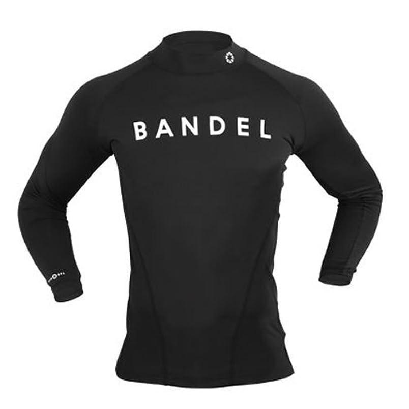 弾薬たくさんの観察するBANDEL ハイネックロングTシャツ ブラック M