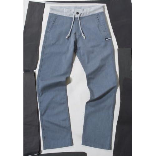 (インハビタント)INHABITANT SMART LONG PANTS IH412PA30 GR グレイ M