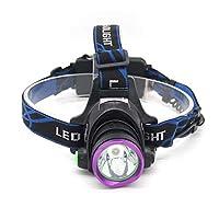 屋外用ヘッドライトT6ヘッドライト懐中電灯釣り夜釣りホワイトライト yvv