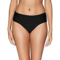 maysoul Women's Hollow Out Bikini Bottoms Strappy High Waisted Tankini Shorts