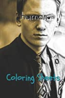 Human Coloring Sheets: 30 human drawings,coloring sheets adults relaxation, coloring book for kids, for girls, volume 5
