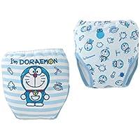 (チャックルベビー) chuckle BABY I'm Doraemon ドラえもん 4層一体型 トレーニングパンツ 2枚組 100cm W4136D-100-30