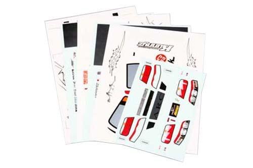 2010年モデル Good Yearレーシングクニーズ チェイサー デカルセット (7枚組) SD-KU2D