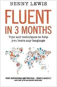 amazon fluent in 3 months benny lewis words language