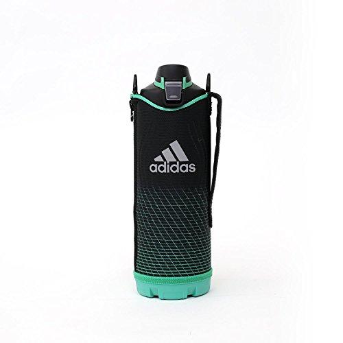 タイガー 水筒 1.2L 直飲み アディダス グリーン ポーチ付き スポーツ ボトル MME-D12X-G Tiger Adidas