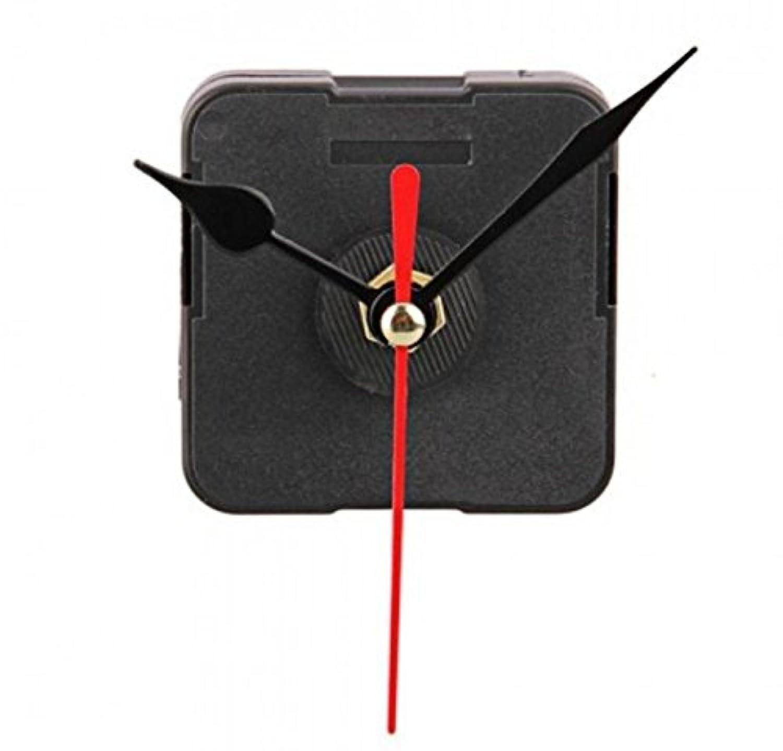 Elegantflower 手作り時計用ムーブメント 時計シャフト クォーツ時計ムーブメント DIY補修部品キット ムーブメント&針セット