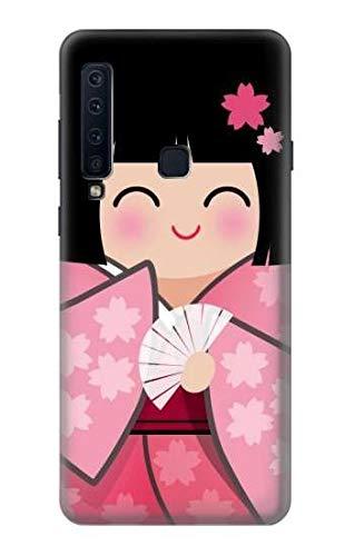 JP3042A98 雛人形 着物桜 Japan Girl H...