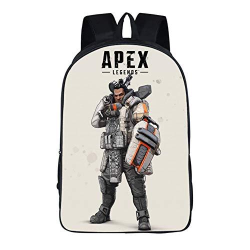 Apex Legends Gibraltar アペックスレジェンドバッグバックパックショルダーバッグジブラルタル印刷ゲームバッグ,A