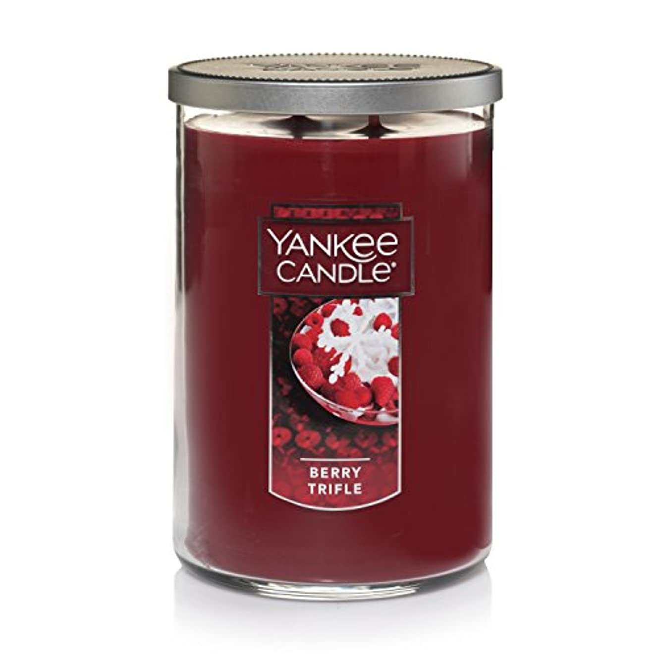 ナイロン書く財産Yankee Candle Large Jar Candle Large 2-Wick Tumbler Candle レッド 1342528