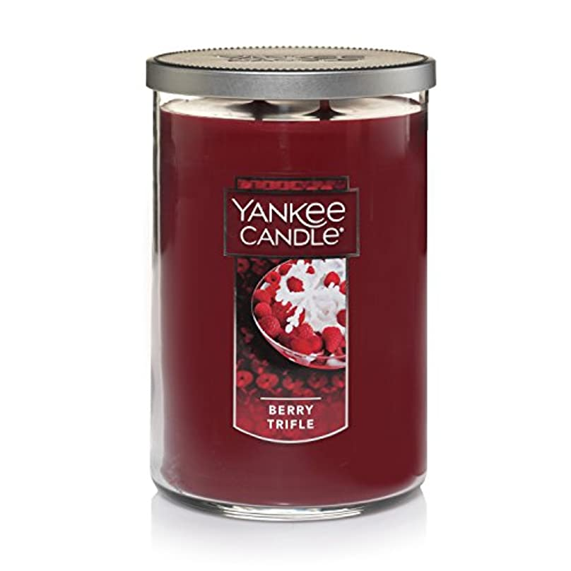 質量有力者振動させるYankee Candle Large Jar Candle Large 2-Wick Tumbler Candle レッド 1342528